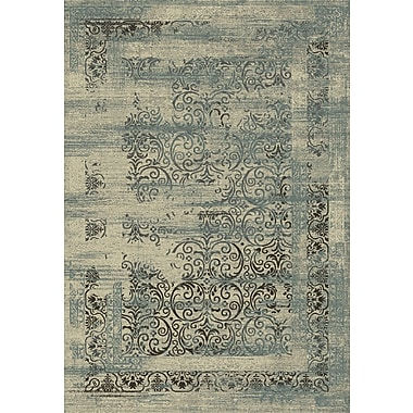 Dynamic Rugs Utopia Cream Area Rug; Runner 2'2'' x 7'7''