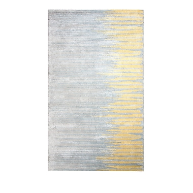 Dynamic Rugs Vogue Gold/Gray Area Rug; 8' x 11'
