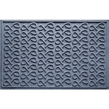 Bungalow Flooring Aqua Shield Cunningham Doormat; Bluestone