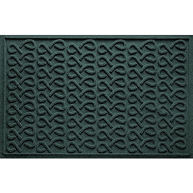 Bungalow Flooring Aqua Shield Cunningham Doormat; Evergreen