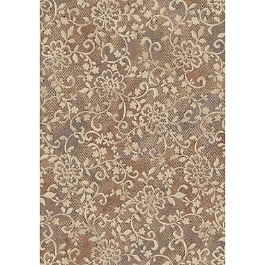 Dynamic Rugs Eclipse Copper Area Rug; 7'10'' x 10'10''