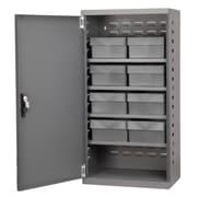 Akro Mils 38''H x 19.25''W x 13.25''D 8 Drawer Storage Cabinet; Gray