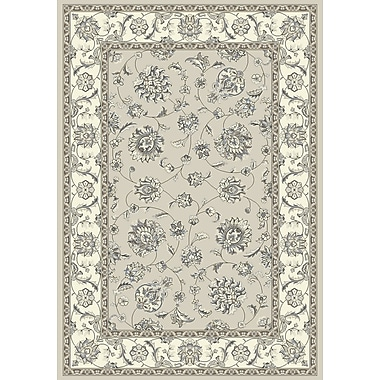 Dynamic Rugs Ancient Garden Soft Gray/Cream Area Rug; Rectangle 2' x 3'11''