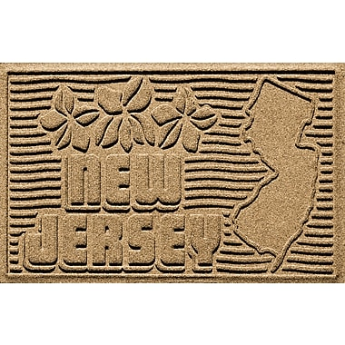 Bungalow Flooring Aqua Shield New Jersey Doormat; Gold