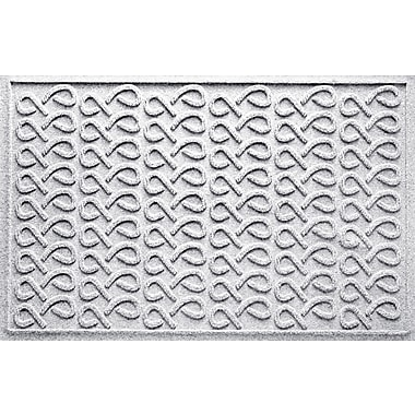 Bungalow Flooring Aqua Shield Cunningham Doormat; White