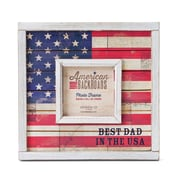DEMDACO American Backroads Best Dad In The USA Picture Frame