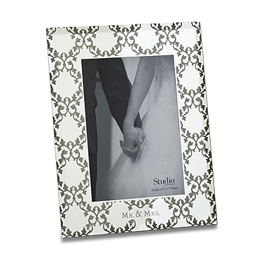 DEMDACO From This Day Forward Mr. & Mrs. Picture Frame