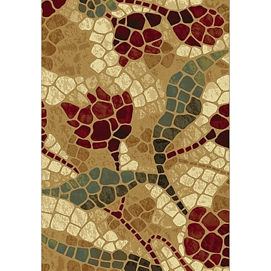 Dynamic Rugs Majestic Gold Area Rug; 6'7'' x 9'6''