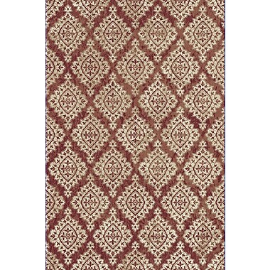Dynamic Rugs Melody Terracotta/Ivory Area Rug; 9'2'' x 12'10''