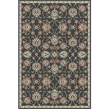Dynamic Rugs Melody Anthracite Area Rug; 7'10'' x 10'10''
