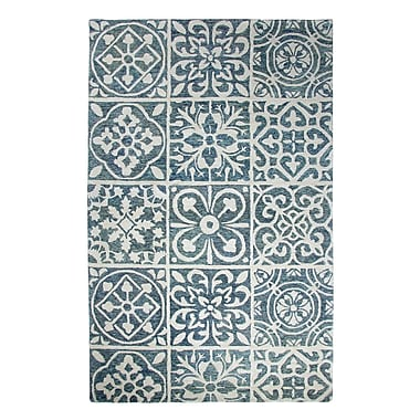 Dynamic Rugs Casual Blue Area Rug; 2' x 4'