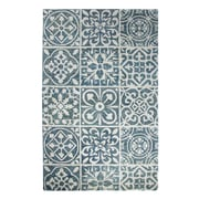 Dynamic Rugs Casual Blue Area Rug; 8' x 11'