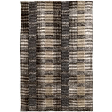 Dynamic Rugs Lounge Gray Area Rug; Rectangle 2' x 4'