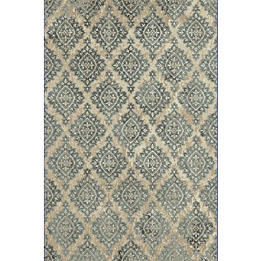 Dynamic Rugs Melody Ivory/Blue Area Rug; 2' x 3'7''