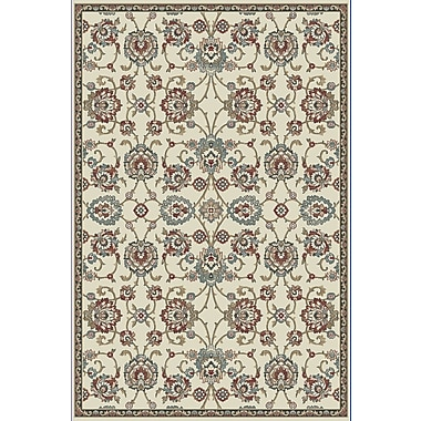 Dynamic Rugs Melody Ivory Area Rug; Runner 2'2'' x 10'10''