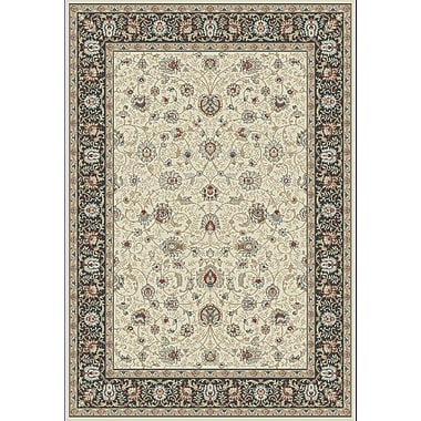 Dynamic Rugs Melody Ivory Area Rug; 2' x 3'7''