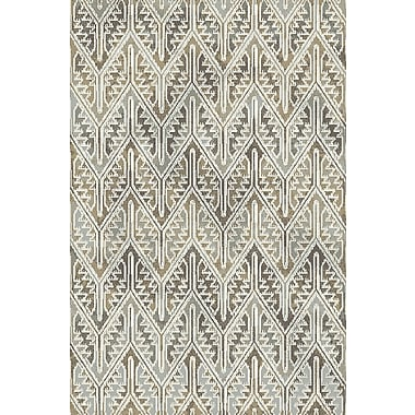 Dynamic Rugs Royal Treasure Gray/Beige Area Rug; Runner 2'2'' x 7'7''