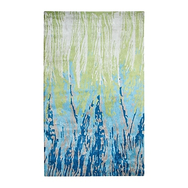 Dynamic Rugs Vogue Blue/Green Area Rug; Rectangle 4' x 6'