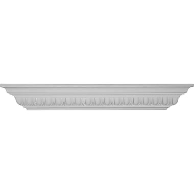Ekena Millwork Egg and Dart 3 7/8''H x 30''W x 5 1/4''D Shelf