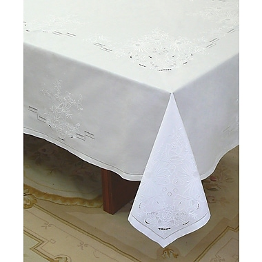 Fino Lino Cittadini Tablecloth & Napkin Set; 104'' x 68''