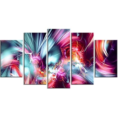 DesignArt Take Me Over 5 Piece Graphic Art on Wrapped Canvas Set