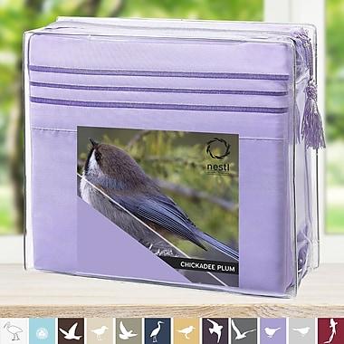 Nestl Bedding Microfiber Sheet Set; Lavender