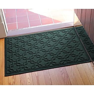 Bungalow Flooring Aqua Shield Interlink Doormat; Evergreen