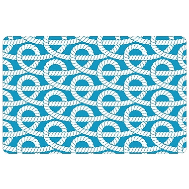 Bungalow Flooring Surfaces Nautical Knots Doormat; 1'11'' x 3'