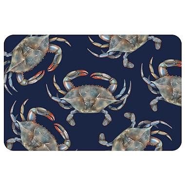 Bungalow Flooring Surfaces Crabs Doormat; 1'6'' x 2'3''