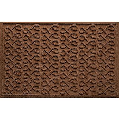 Bungalow Flooring Aqua Shield Cunningham Doormat; Dark Brown