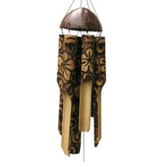 Cohasset Gifts & Garden Burnt Flower Wind Chime; Small