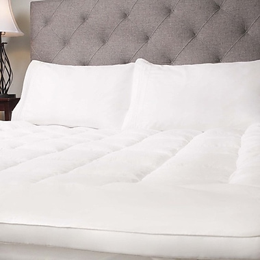 Sweet Home Collection Hypoallergenic 2'' Polyester Mattress Topper; Full