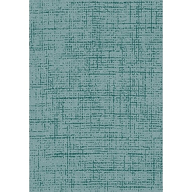 Dynamic Rugs Flair Soft Blue Area Rug; 6'7'' x 9'6''