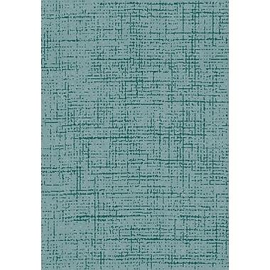 Dynamic Rugs Flair Soft Blue Area Rug; 7'10'' x 10'10''