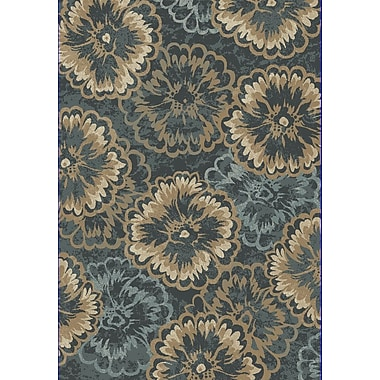 Dynamic Rugs Melody Blue/Beige Area Rug; Runner 2'2'' x 10'10''