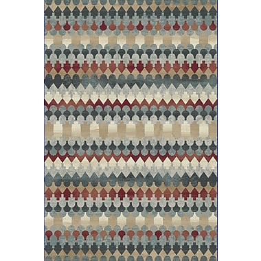 Dynamic Rugs Melody Blue Area Rug; 2' x 3'7''