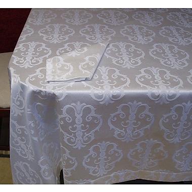 Fino Lino Albinoni Damask Tablecloth; 126'' x 72''