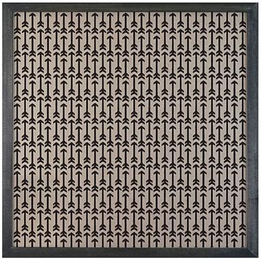 Petal Lane Patterns Mini Arrows Magnetic Memo Board; 2' H x 2' W