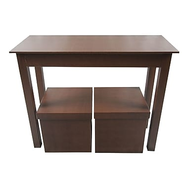 Upscale Designs by EMA 3 Piece Console Table Set