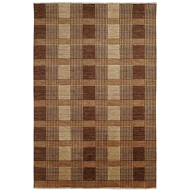 Dynamic Rugs Lounge Brown Area Rug; 4' x 6'