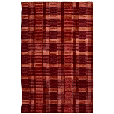 Dynamic Rugs Lounge Red Area Rug; 2' x 4'