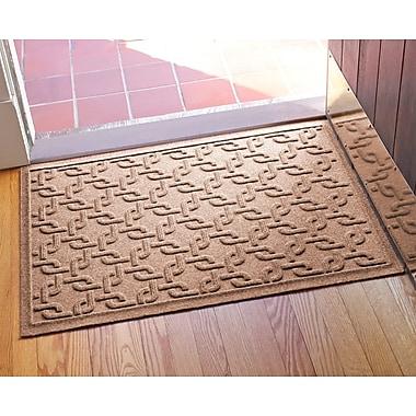Bungalow Flooring Aqua Shield Interlink Doormat; Medium Brown