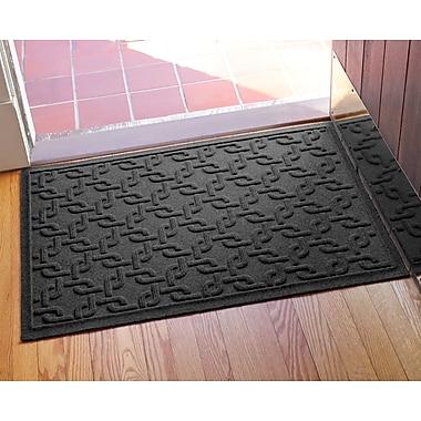 Bungalow Flooring Aqua Shield Interlink Doormat; Charcoal