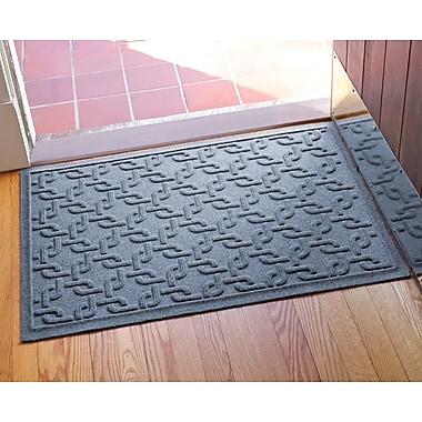 Bungalow Flooring Aqua Shield Interlink Doormat; Bluestone
