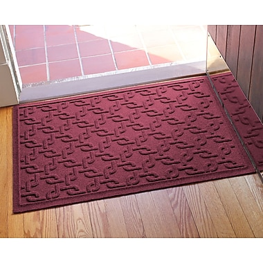 Bungalow Flooring Aqua Shield Interlink Doormat; Bordeaux