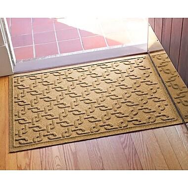 Bungalow Flooring Aqua Shield Interlink Doormat; Gold
