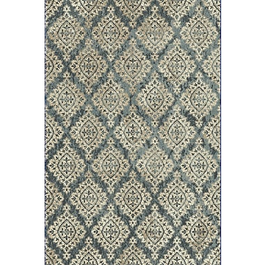 Dynamic Rugs Melody Blue/Ivory Area Rug; 7'10'' x 10'10''