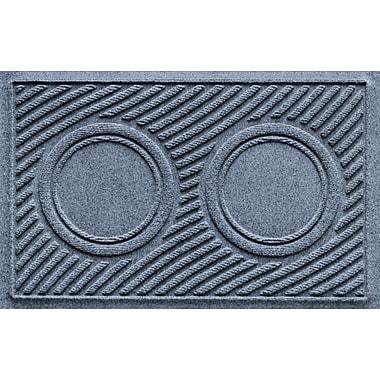 Bungalow Flooring Aqua Shield Wave Pet Feeder Doormat; Bluestone