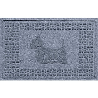 Bungalow Flooring Aqua Shield Yorkie Doormat; Bluestone