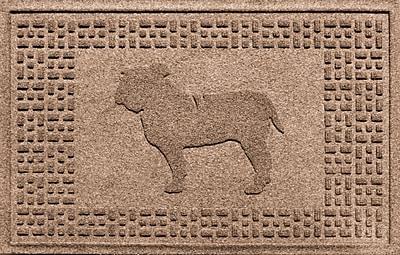 Bungalow Flooring Aqua Shield Bulldog Doormat; Medium Brown